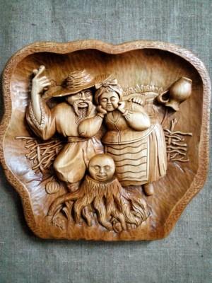 Різьблення на деревині